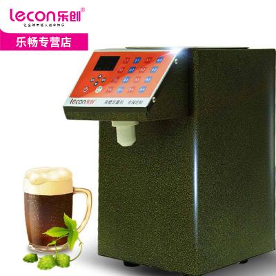 乐创 奶茶专用全自动果糖定量机 16格超精准台湾果糖机 咖啡店