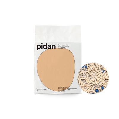 pidan矿土豆腐款 7L 润土猫砂原味豆腐砂猫砂除臭猫砂混合砂