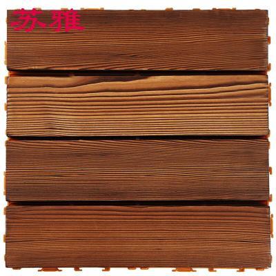 防腐木地板碳化实木阳光房庭院户外室外露台桑拿阳台花园别墅板材