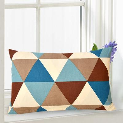 长方形靠垫抱枕套不含芯床头长条大靠背腰靠客厅沙发全棉靠枕定做 姜黄色 一只 30*50cm不含芯
