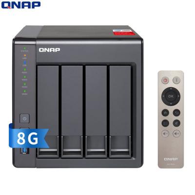 威联通(QNAP) TS-451+ 8G NAS网络存储器 赛扬2.0G四核CPU(无内置硬盘)