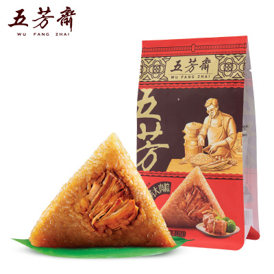 五芳齋嘉興特產粽子 真空140g*2只裝五芳大肉粽