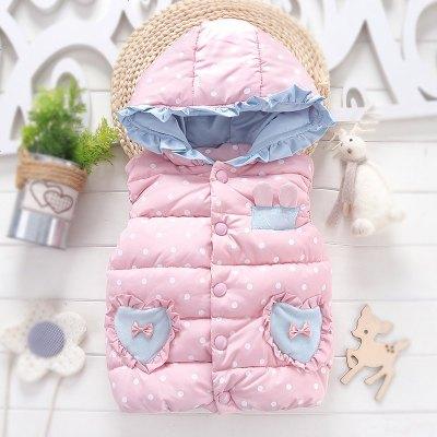 童裝秋冬裝女童馬甲外穿寶寶小童坎肩冬季馬夾1兒童加厚背心2-9歲