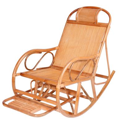 戶外休閑藤椅真藤椅搖搖椅 老人藤搖椅 躺椅逍遙椅陽臺休閑躺椅戶外椅