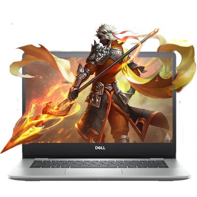 戴爾(DELL) 靈越燃5000 5493 14.0英寸 輕薄本 窄邊框 筆記本電腦 十代 i5-1035G1 8G 512GB固態 MX230 2G獨顯 高清屏 銀色 定制版