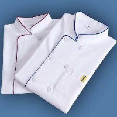 【衣服围裙】厨师工作服长袖厨房厨师服短袖夏季食堂后厨衣服装男 莎丞