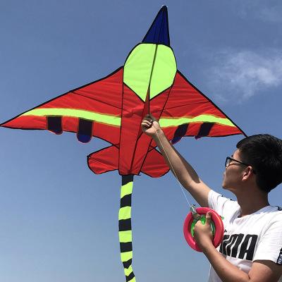 新款飛機風箏微風易飛兒童成人多款可選適合新手操作簡單線輪搭配