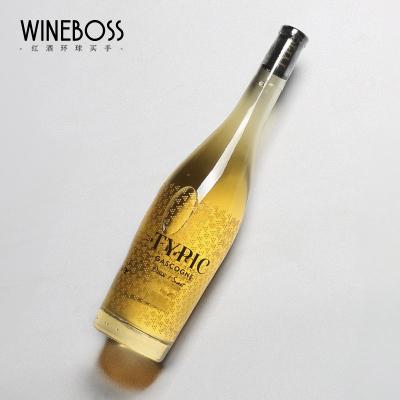 WINEBOSS 法国醍皮克单支白葡萄酒 法国半甜白型果酒葡萄酒