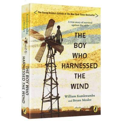 正版 馭風少年 英文原版書 The Boy Who Harnessed the Wind 美國前副總統阿爾戈爾推薦