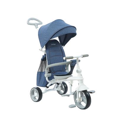 薈智(whizbebe)折疊兒童三輪車腳踏車 推行騎行兩用童車小孩寶寶三輪推車嬰兒手推車小孩 HSR199