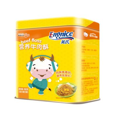 英氏(Engnice)營養牛肉酥 (原味)兒童肉酥 牛肉松 100g 小袋分裝