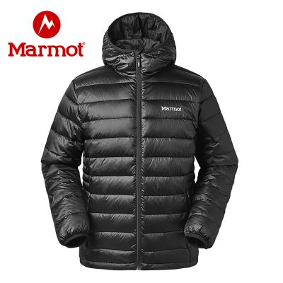 Marmot土拨鼠19秋冬新品男士羽绒服带帽700蓬舒适保暖透气