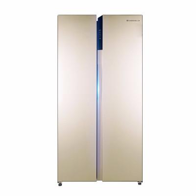 上菱(SHANGLING)冰箱 对开门冰箱 双开门冰箱 冰箱无霜 家用风冷 节能静音 519升 BCD-519WSKE