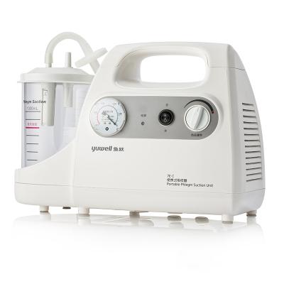 魚躍(YUWELL)電動吸痰器7E-C 送吸痰管家用便攜式老人兒童嬰兒電動吸痰器吸痰機