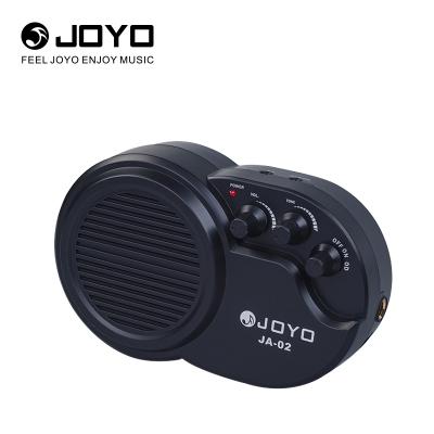 卓樂 JOYO JA-02失真電箱木吉他電吉他小音箱電貝司音響支持電池和耳機初學入門音箱(可掛于腰間彈唱)