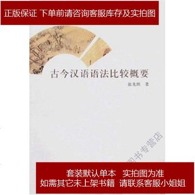 古今漢語語法比較概要 張先坦 巴蜀書社 9787807520382