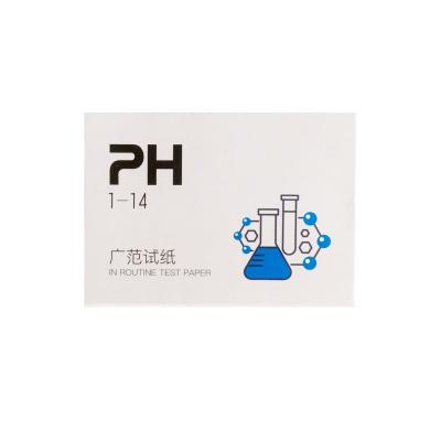 鱼缸PH水质测试纸方便养鱼水质酸碱度快速测量快检查中性酸碱溶液 PH测试纸×5 [检测水质酸碱度]