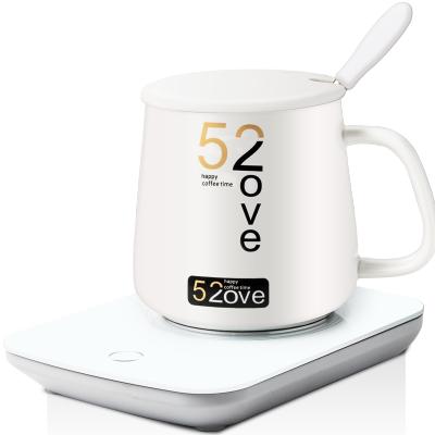 中聯(ZOLEE)暖暖杯55度恒溫杯CP-01520迷你咖啡杯女生用姨媽神器養生燒水壺加熱陶瓷杯
