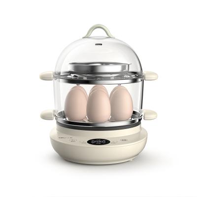 小熊蒸蛋器ZDQ-B14V2 不粘鍋涂層 微電腦觸控 自動斷電 家用煎蛋神器定時煮蛋器煎蛋器小型插電早餐機