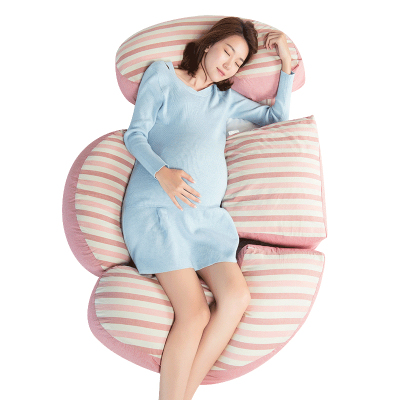 枕工坊孕妇枕头护腰侧睡枕u型枕多功能睡觉侧卧枕孕抱枕靠枕托腹