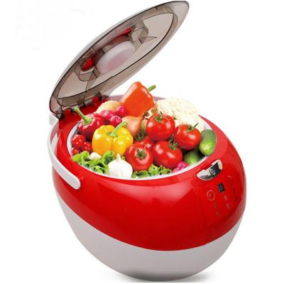 果蔬機清洗機洗菜機全自動家用蔬菜消毒臭氧解毒機殺菌去農藥消毒機