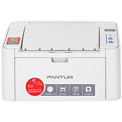 奔圖(PANTUM)P2206NW黑白激光打印機 微信打印 手機直連 雙網絡打印 A4打印 家用作業打印機