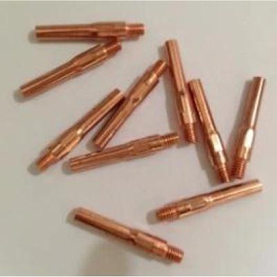 歐式/松下200A/350A/500A導電嘴 0.8/1.0/1.2/1.6*40/45mm全銅 1.2*40mm