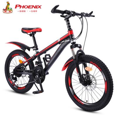 鳳凰兒童自行車6-10-15歲中小學生車男女小孩單車20寸22寸變速山地車中小學生車