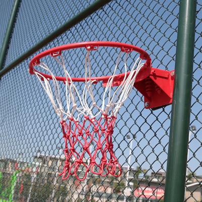 苏宁好货篮球兜铁链篮球框标准加粗耐用耐磨户外金属篮筐铁链篮聚兴新款