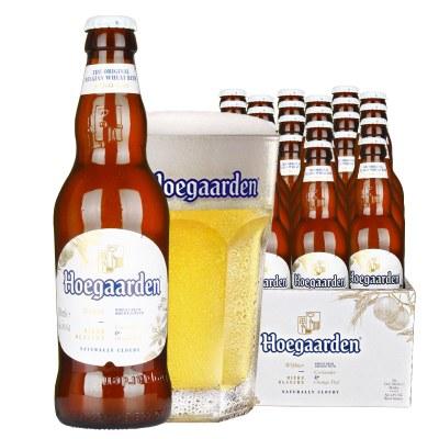 比利時風味啤酒 福佳白啤酒整箱330ml*24瓶裝