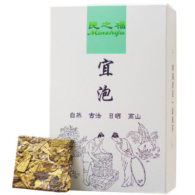 民之福【買五送一】2017福鼎白茶白牡丹高山餅干茶餅管陽鎮荒野茶禮盒裝100g