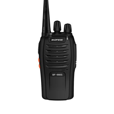 宝锋(BAOFENG)BF-666S对讲机 宝峰无线微型对讲机 民用 迷你对讲手台专业对讲机 抗干扰黑色