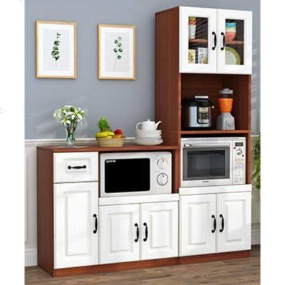 ONEVAN定制餐邊柜現代簡約 餐廳柜子茶水柜多功能微波爐廚房置物儲物柜