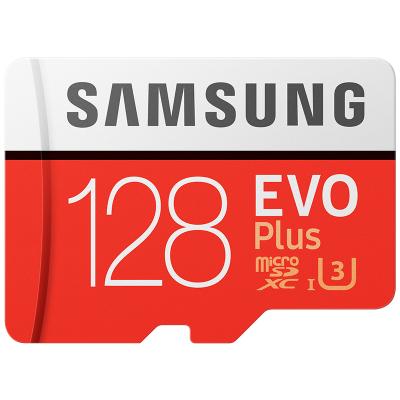三星(SAMSUNG) microSD存儲卡 128GB讀取100MB/s 4K 高性能 Switch 無人機 TF卡