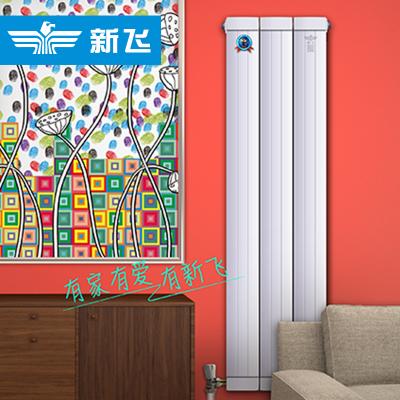 新飛暖氣片家用水暖銅鋁壁掛式散熱器定制采暖集中供暖水暖暖器片XTL132*60 1655mm