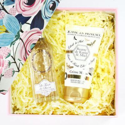 【苏宁优选】Jeanne En Provence 小众清新少女香水护手霜礼盒套装送礼品 甜美梦境+乳木果手霜