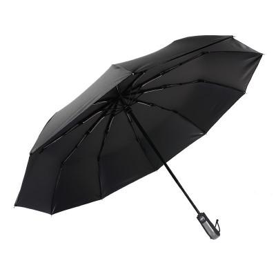意維斯 全自動雨傘10骨折疊開收大號雙人三折防風男女加固晴雨兩用學生超大號