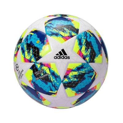 阿迪達斯男子足球2019新款FINALE TTRN歐冠足球5號球配件DY2551