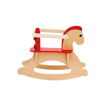 Hape摇摇木马年龄段1-6岁儿童摇马婴幼儿宝宝摇骑实木摇摇马玩具男孩女孩玩具