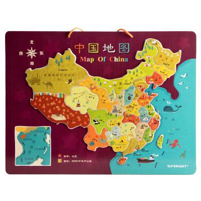 Topbright特宝儿中国磁性地图120448