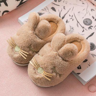 兒童棉拖鞋男女童卡通保暖寶寶室內居家鞋2-9歲小孩包跟棉鞋冬季 莎丞