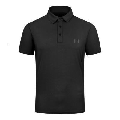 清仓免烫速高尔夫服装男高尔夫球男装上衣干透气高尔夫短袖T恤男[定制] 黑色 M