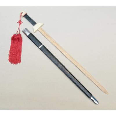 道具木劍木刀舞臺表演木劍竹劍太極劍訓練木刀木劍演出劍帶鞘木劍