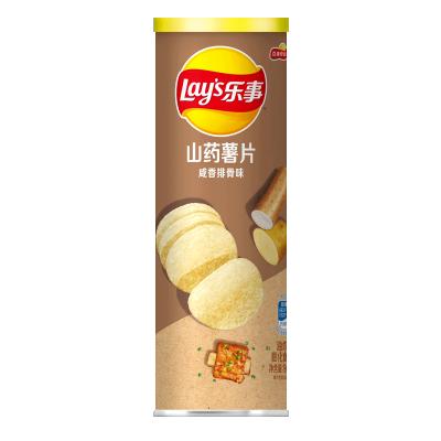 乐事无限 山药薯片 咸香排骨味 90克/罐