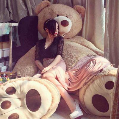 大手牽小手 大熊特大號毛絨玩具泰迪狗熊玩偶美國大熊公仔泰迪熊布娃娃可愛毛絨玩具大熊貓生日女生