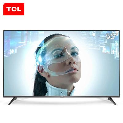 TCL D55A730U 55英寸4K超高清智能 HDR全面屏 金属背板LED液晶电视机