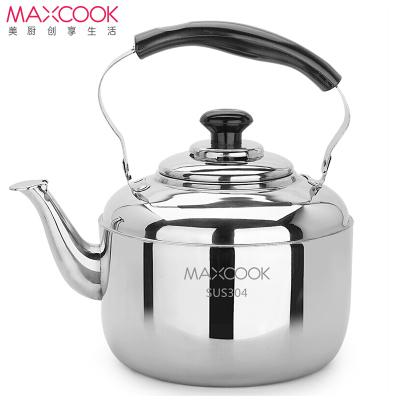 MAXCOOK美厨 烧水壶不锈钢水壶5L 中式鸣音 煤气电磁炉通用MCH653