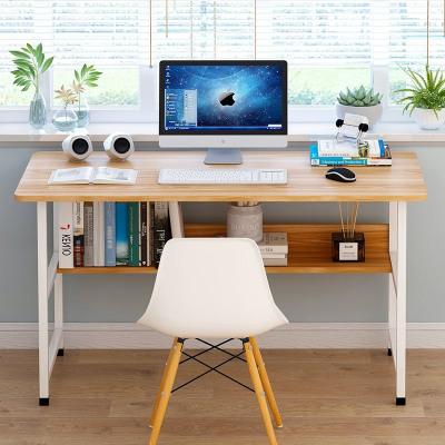 現代簡約新中式書桌實木書法桌書臺電腦桌辦公桌書房家具套裝組合
