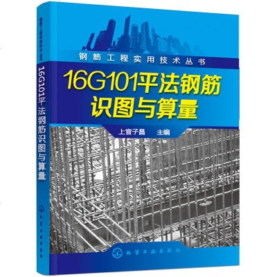 鋼筋工程實用技術叢書 16G101平法鋼筋識圖與算量 上官子昌 平法基礎知識書籍 平法鋼筋識圖與算量實例教程 16G