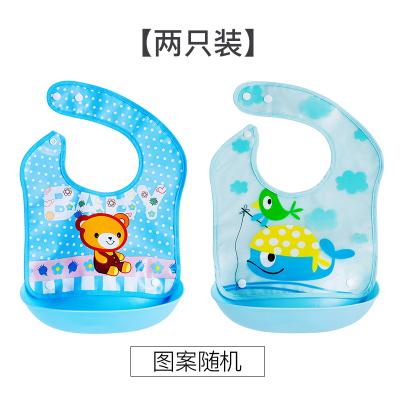 男女宝宝吃饭围兜可拆卸两用防水婴儿童围嘴口水巾食饭兜